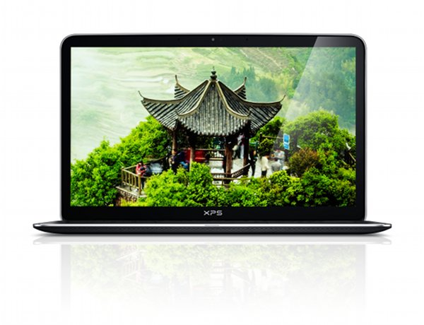 XPS 13 with 1080p Screen - front view