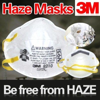 3M N95 Haze Masks