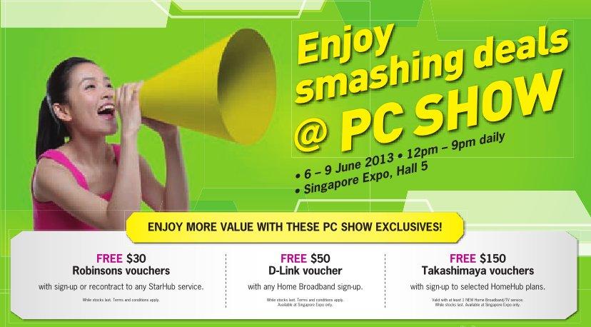 PC Show 2013 - StarHub Top